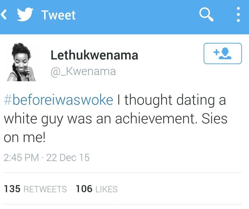 #BeforeIWasWoke8