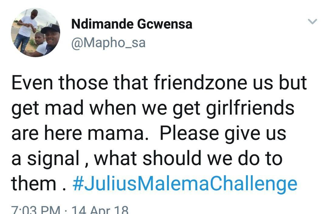 Funniest Reactions To The Julius Malema Challenge # ...
