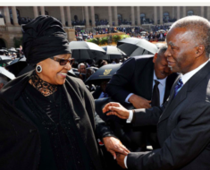 Read The Thabo Mbeki Farewell Message To Winnie Mandela Everyone Ignored