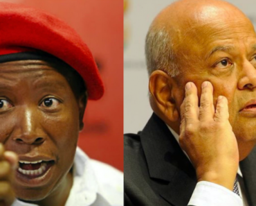 Pravin Gordhan Wants R150 000 And An Unconditional Apology From Malema and Shivambu