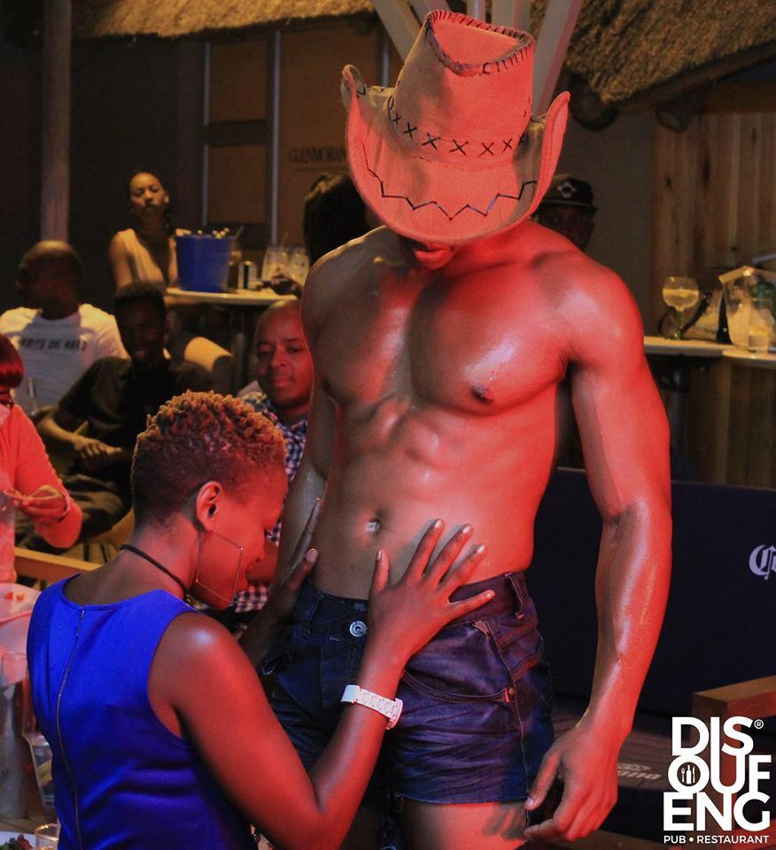 Jozi Women can't get enough of male strippers at a pub in Soweto
